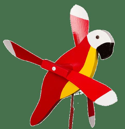 Red Parrot Whirlybird