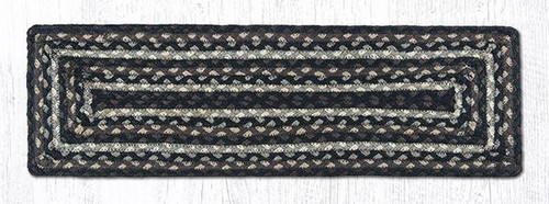 C-313 Mocha/Frappuccino Rectangle Braided Stair Tread by Earth Rugs