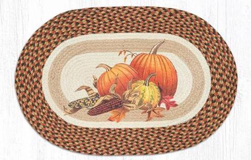 Joyful Harvest Jute Rug