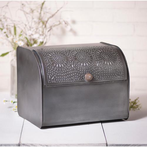 Irvin's Bread Box in Antique Tin