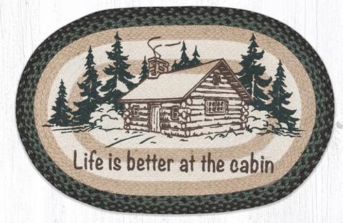 Life is Better at the Cabin Jute Rug