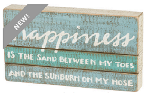 Happiness Box Sign
