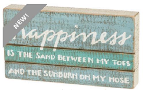 Happiness Box Sign