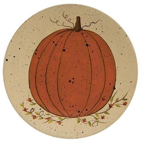 Classic White Pumpkin Plate