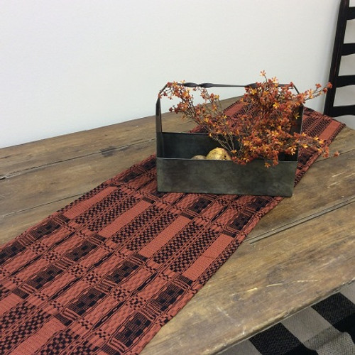 Pumpkin and Black Table Runner