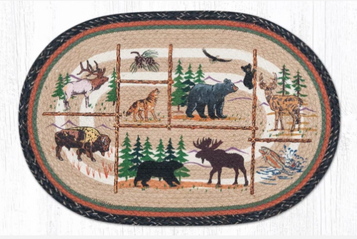 Lodge Animals Rug