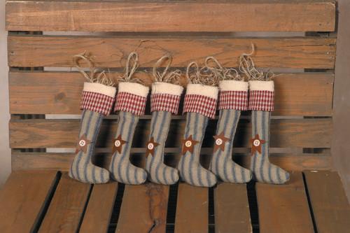 Primitive Hanging Stockings
