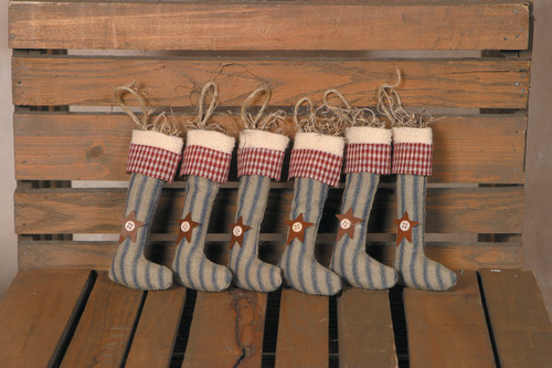 Primitive Hanging Stockings