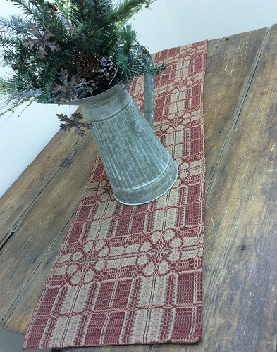 Yorktown Weave  Table Runner