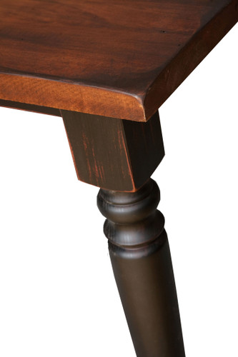 """Amish Handcrafted 4"""" Round Turned Leg by Vintage Creations By Sam"""