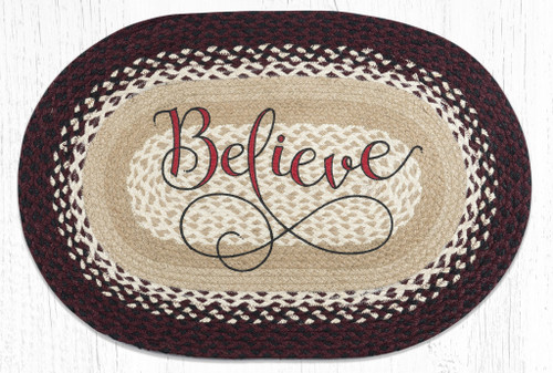 Believe Braided Rug