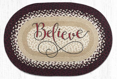 Believe Braided Rug