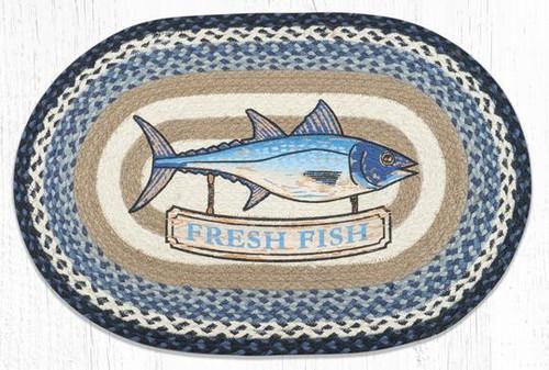 Fresh Fish Braided Rug