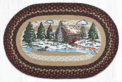 Loon Lake Braided Rug
