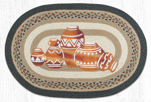 Pottery Braided Rug