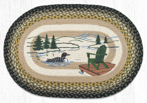 Adirondack Loon Braided Rug