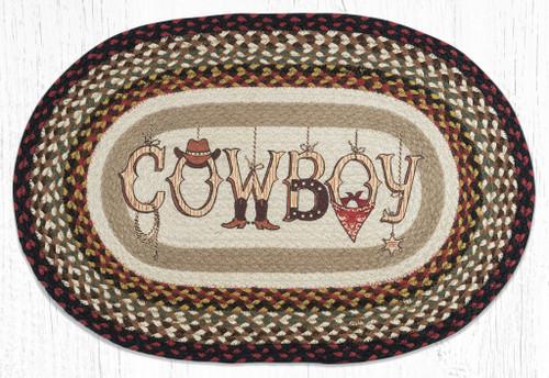 Cowboy Braided Rug