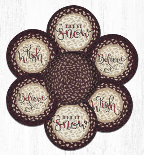 Festive Trivet and Basket Set