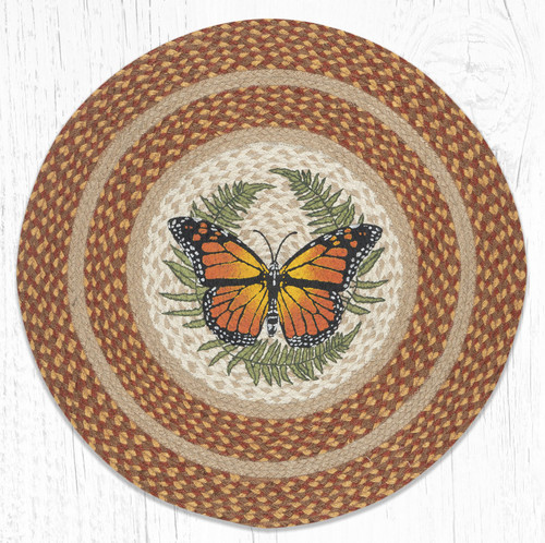 Monarch Round Braided Rug