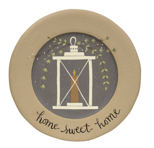 Home Sweet Home Lantern Plate