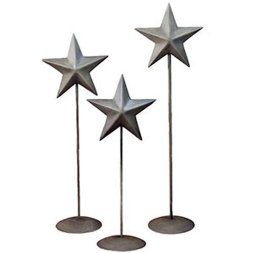 Vintage Barn Star Pedestal