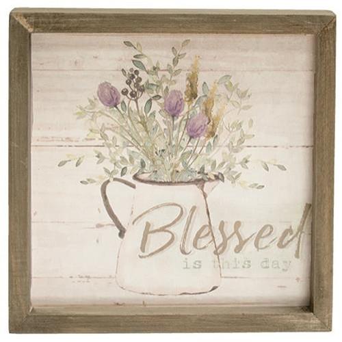 Grateful Heart Framed Sign