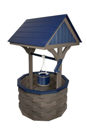 Amish Handcrafted Poly Wishing Well - Jumbo
