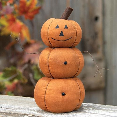 3 Stack Pumpkin Doll