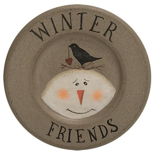 Winter Friends Plate