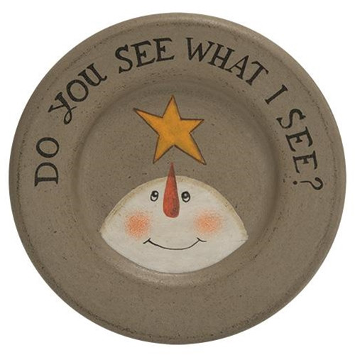 See What I See Plate