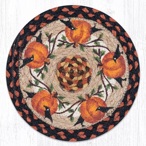 Pumpkin Crow Trivet