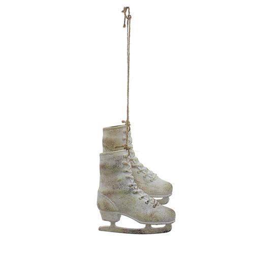 Ornament - White Skates