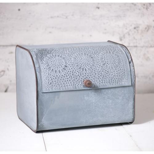 Bread Box in Weathered Zinc