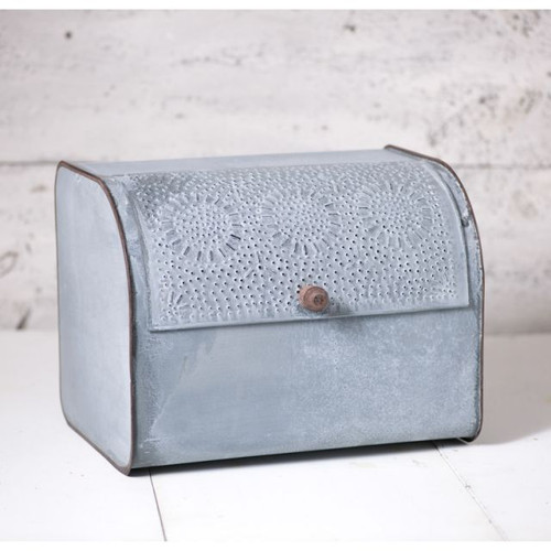 Bread Box in Weathered Zinc