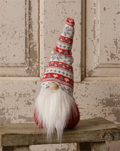 No Arms Red Gnome