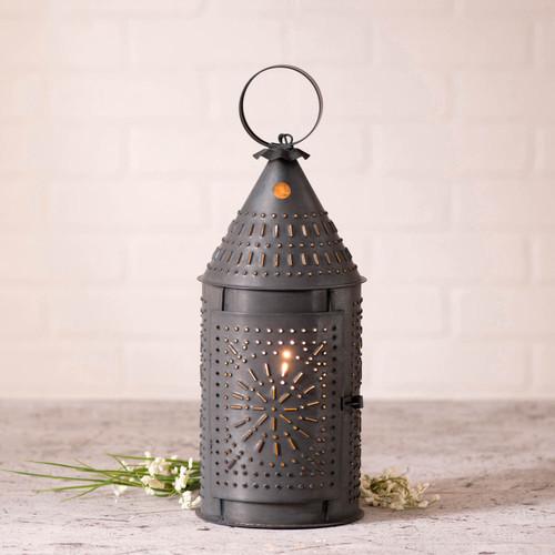 Irvin's Tinware 15-Inch Revere Lantern in Kettle Black