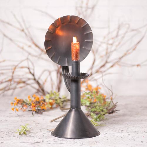 Irvin's Tinware Hearthside Accent Light In Kettle Black