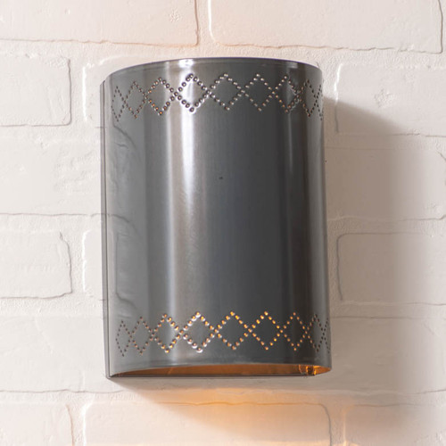 Winslow One Light Wall Light in Country Tin