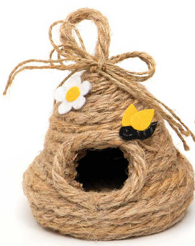 Bee Skep With Hanger