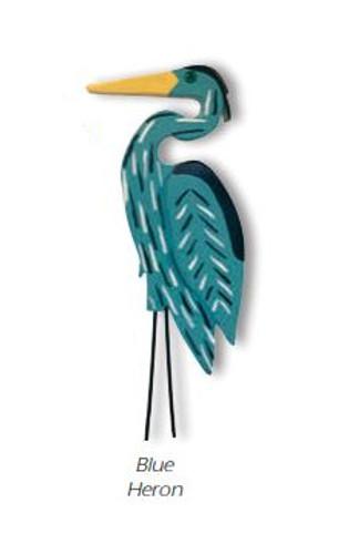 Blue Heron Lawn Stake