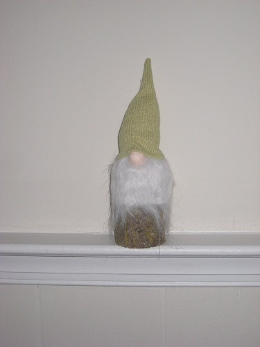 Spring and Summer Gnome - Green Hat