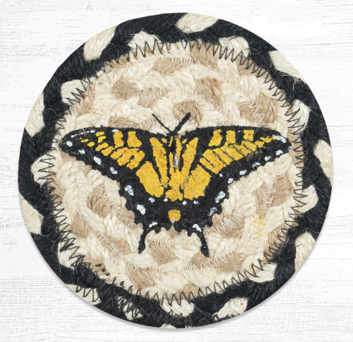 Swallowtail Butterfly Coaster