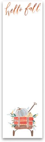 Hello Fall Notepad