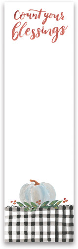 Count Your Blessings Notepad