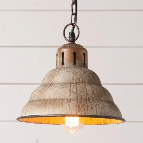 Vintage Verdegris Pendant Light