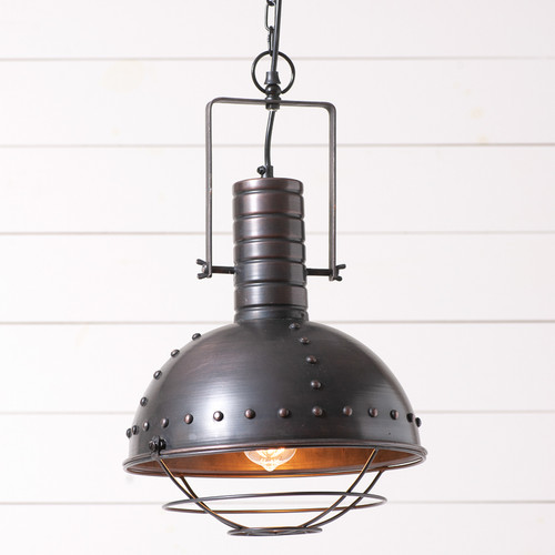 Warehouse Dome Light Pendant Light