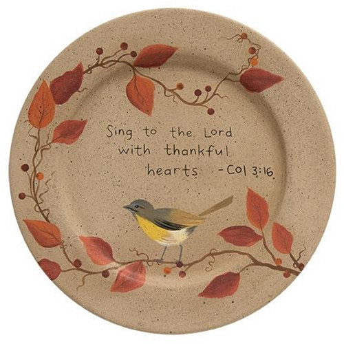 Sing to the Lord Plate