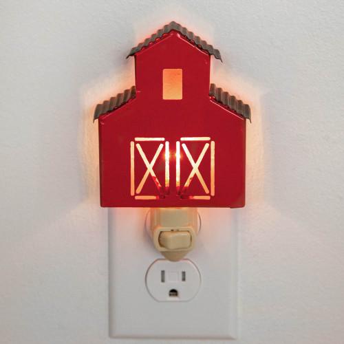Red Barn Night Light