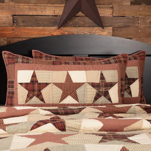 Abilene Star King Sham by VHC Brands