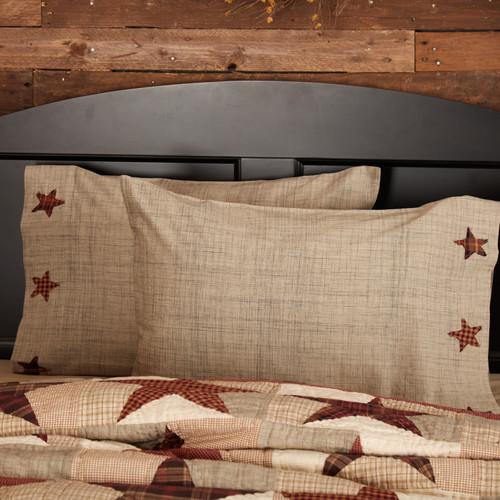Abilene Star Pillow Case Set by VHC Brands